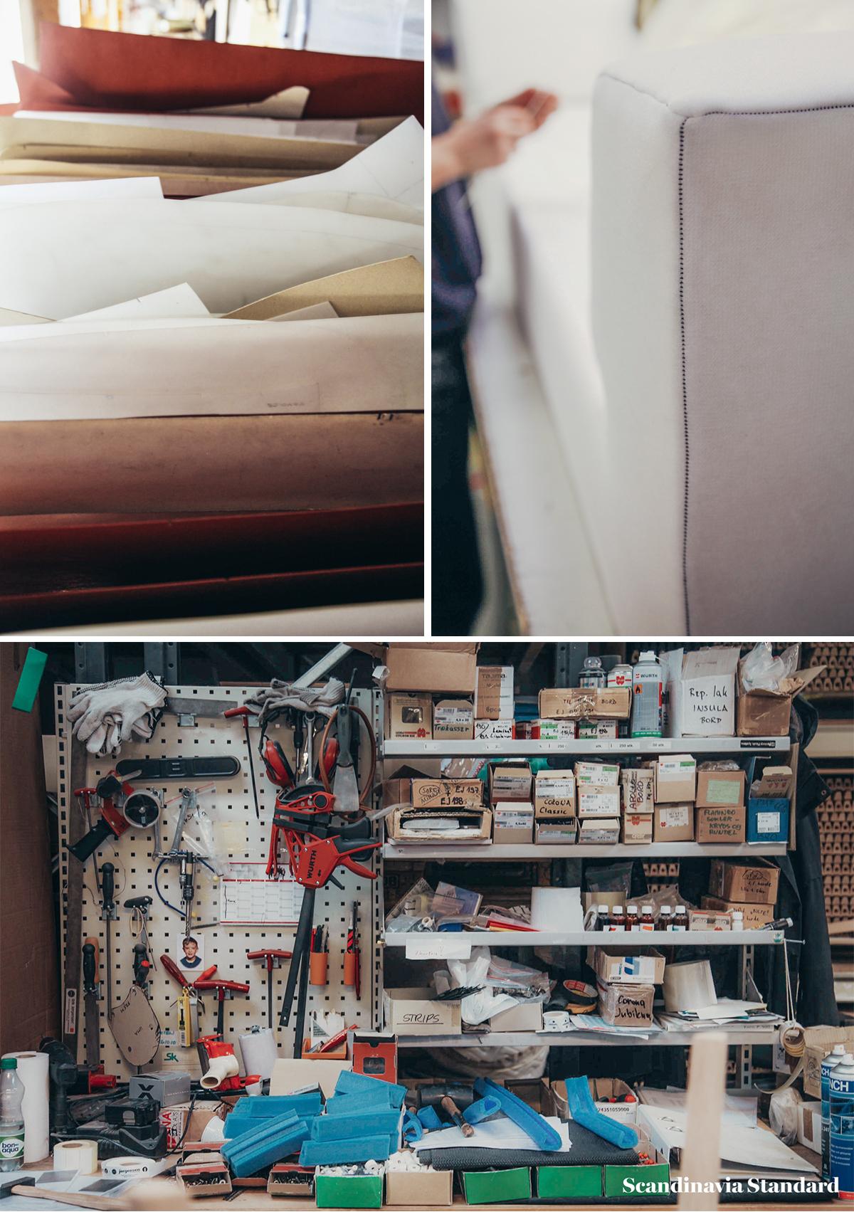 Danish Design Sofa Delphi Making of   Scandinavia Standard