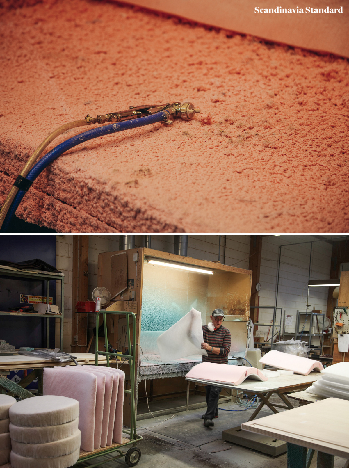 Making of the Delphi Couch Danish Design | Scandinavia Standard