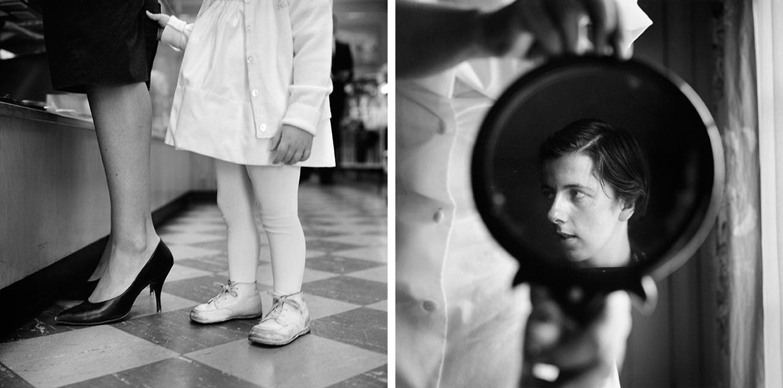 Self-portrait, Chicago area, n. d. 30x40cm (11x14 inch.) Vivian Maier II- In her own hands Kulturhuset Stadsteeatern 2016