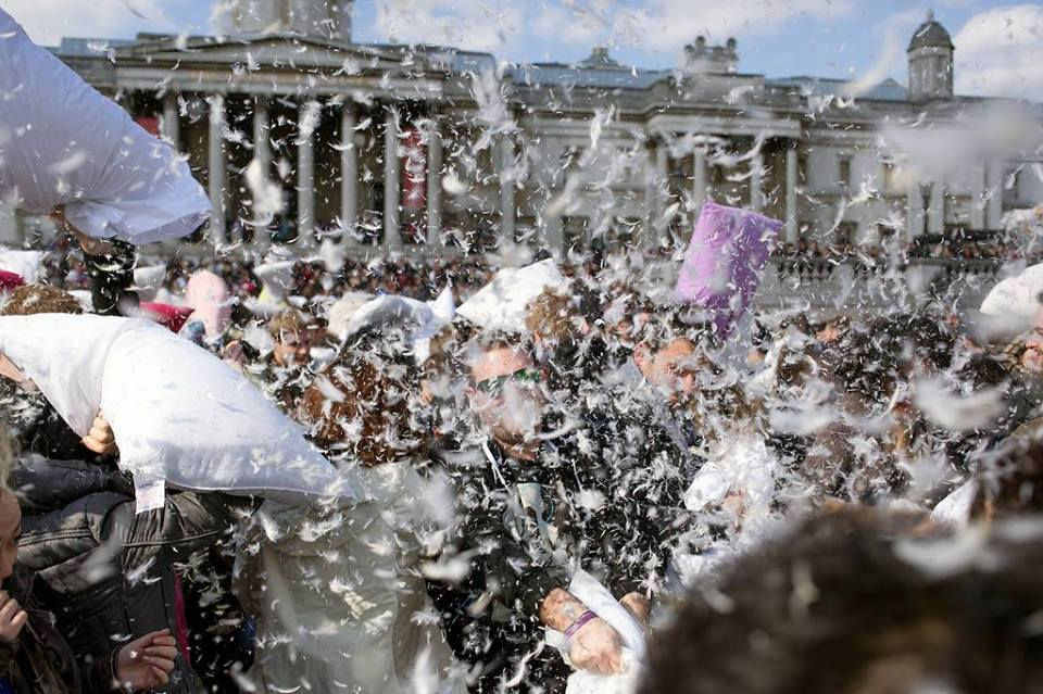 WORLD PILLOW FIGHT - APRIL 2016
