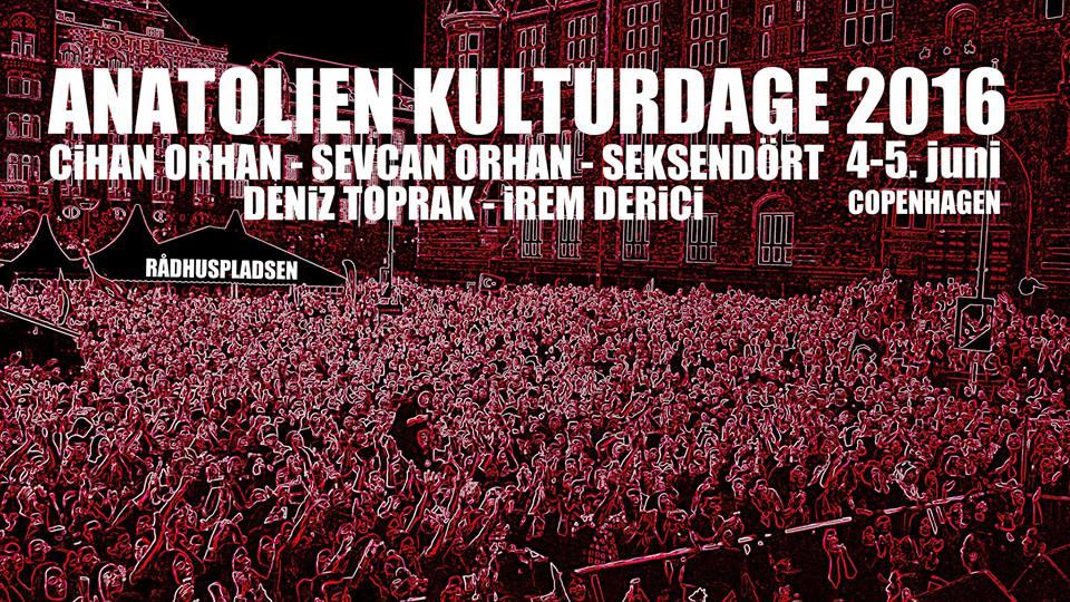 ANATOLIEN CULTURE DAY - JUNE 2016 - COPENHAGEN