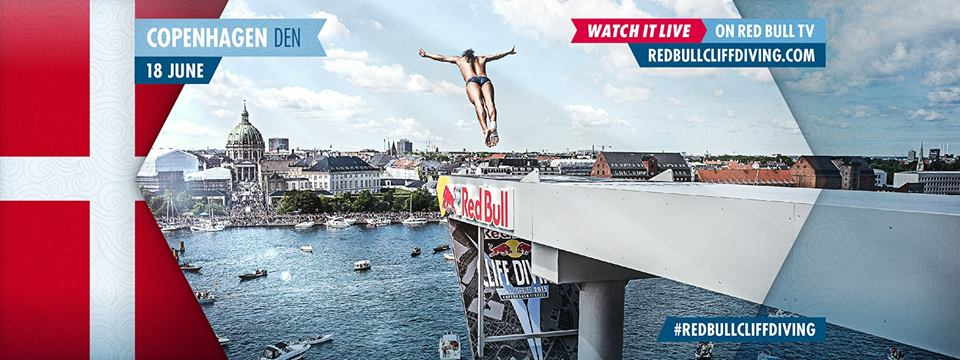 CLIFF DIVING - JUNE 2016 - COPENHAGEN
