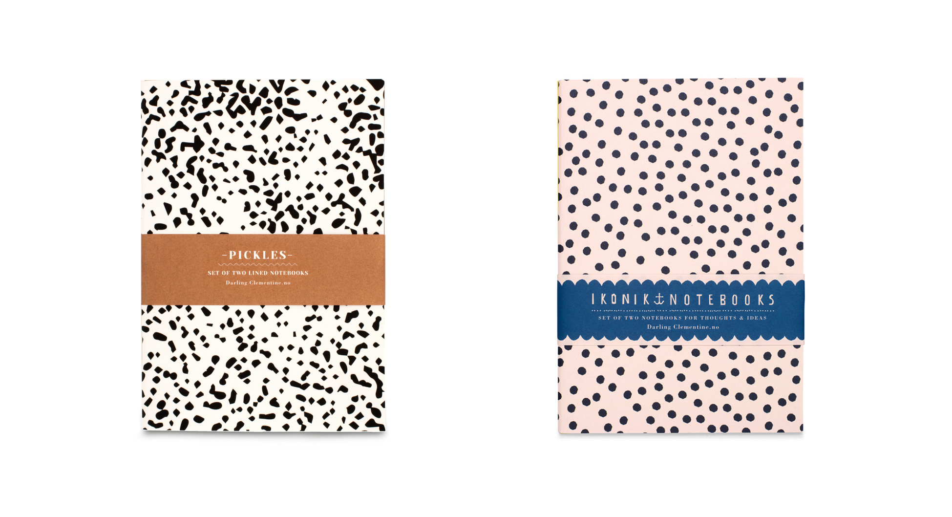 Darling Clementine Notebooks | Scandinavia Standard