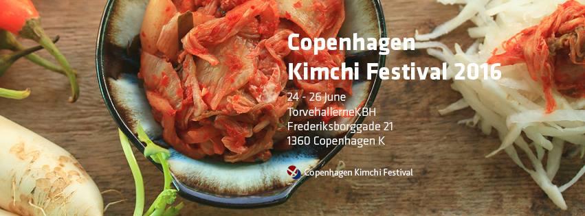 KIMCHI FESTIVAL - JUNE 2016 - COPENHAGEN