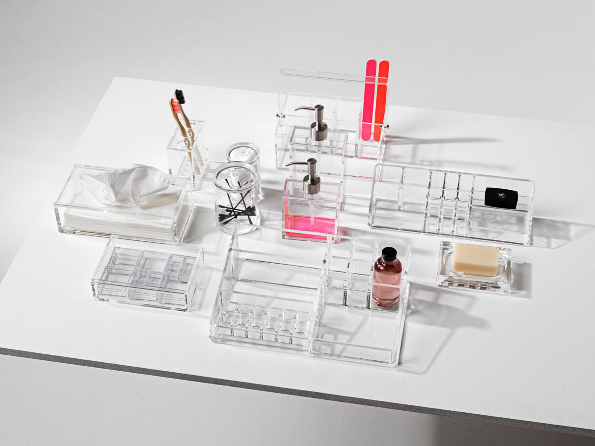 Nomess Acrylic Storage Plastic Minimalist Storage System Danish | Scandinavia Standard