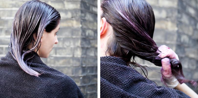 Rebecca Dying Hair