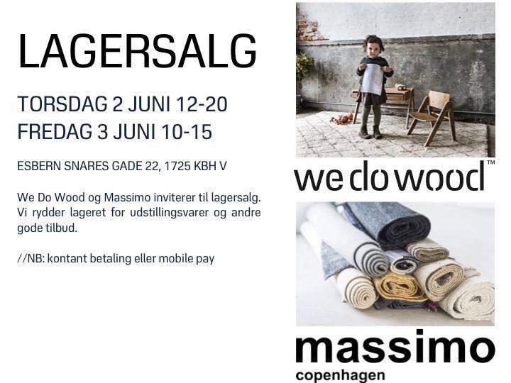 WEDOWOOD STOCK SALE - JUNE 2016 - COPENHAGEN