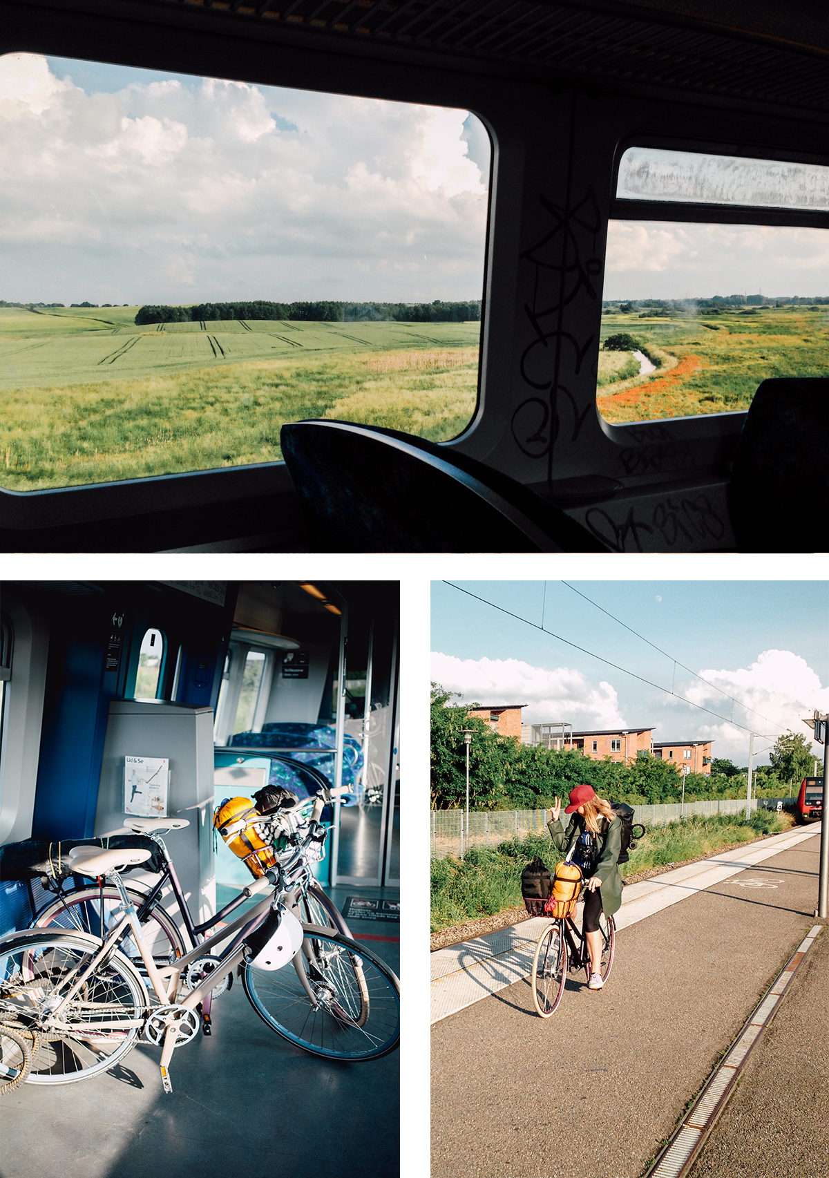 Cycling to Aarhus Sealland Denmark on Real Bikes | Scandinavia Standard1-1