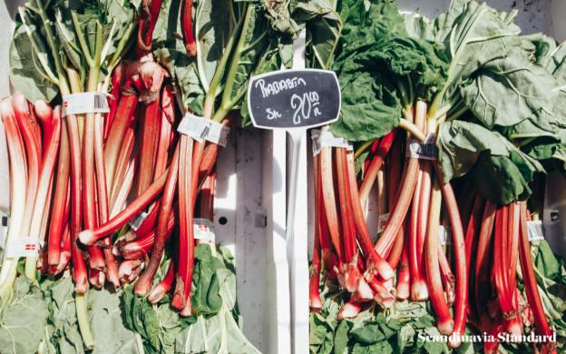 Eating Sustainably in Copenhagen - Rhubarb | Scandinavia Standard
