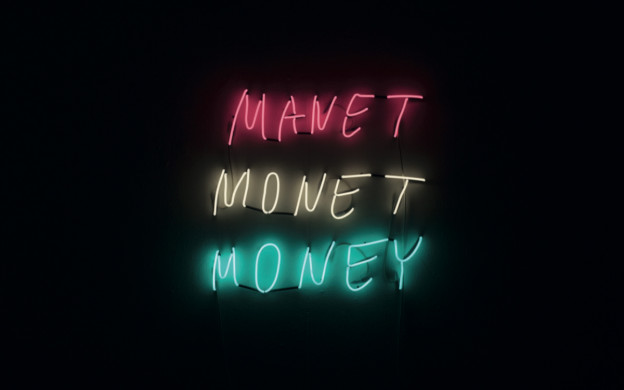 Manet Monet Money - Sygns collab with artist George Weißbach