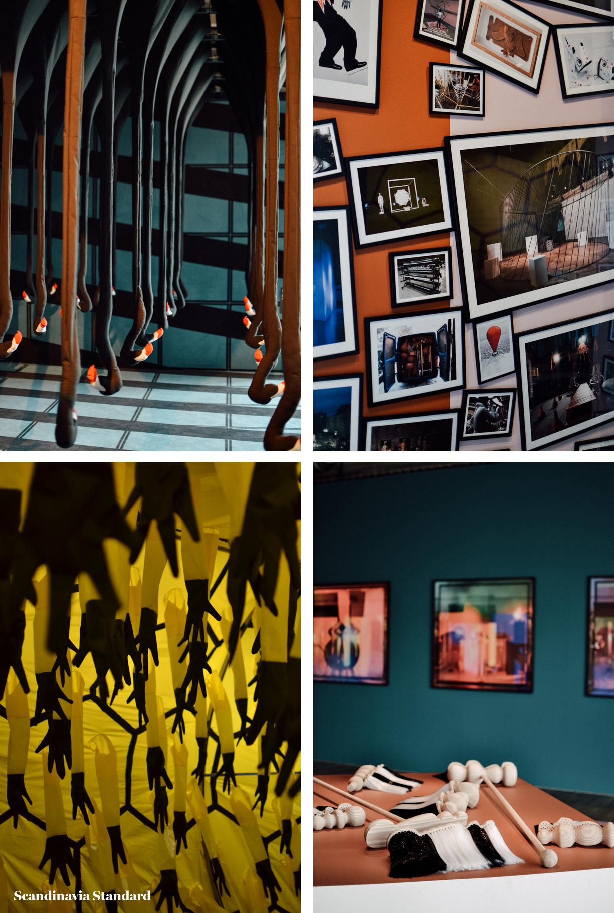 Henrik Vibskov Collage - ScandiSix Exhibitions I Scandinavia Standard
