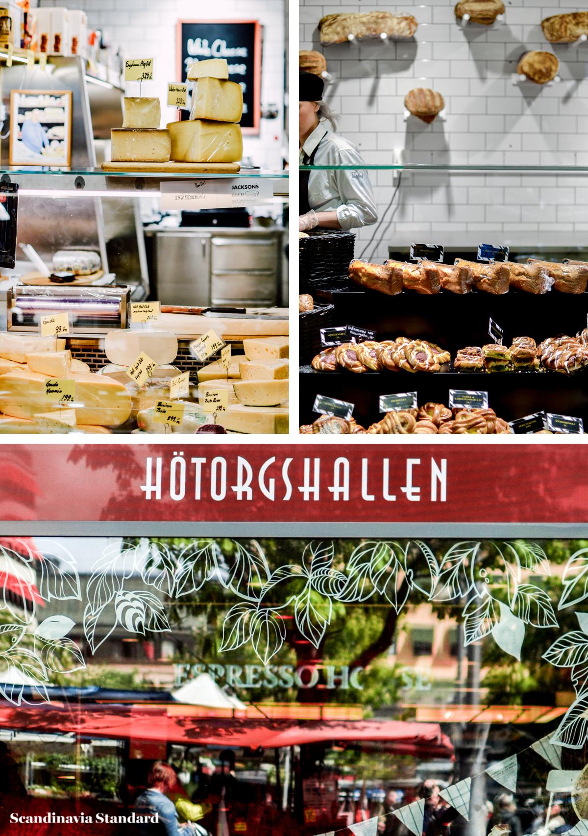 Knausgard - Hotorgshallen Collage I Scandinavia Standard