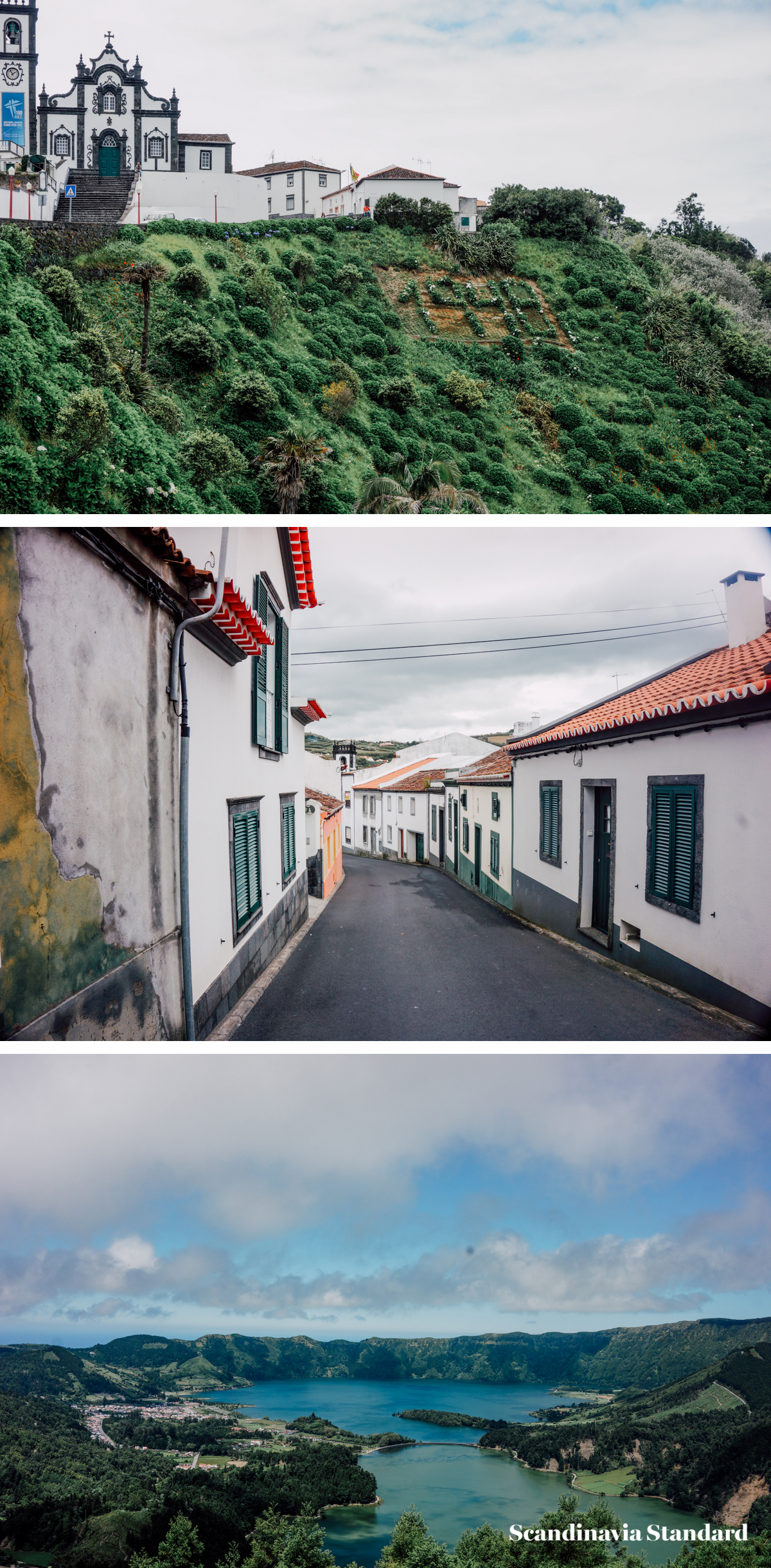 Pico do Réfugio in São Miguel, Azores - Collage 6 | Scandianvia Standard