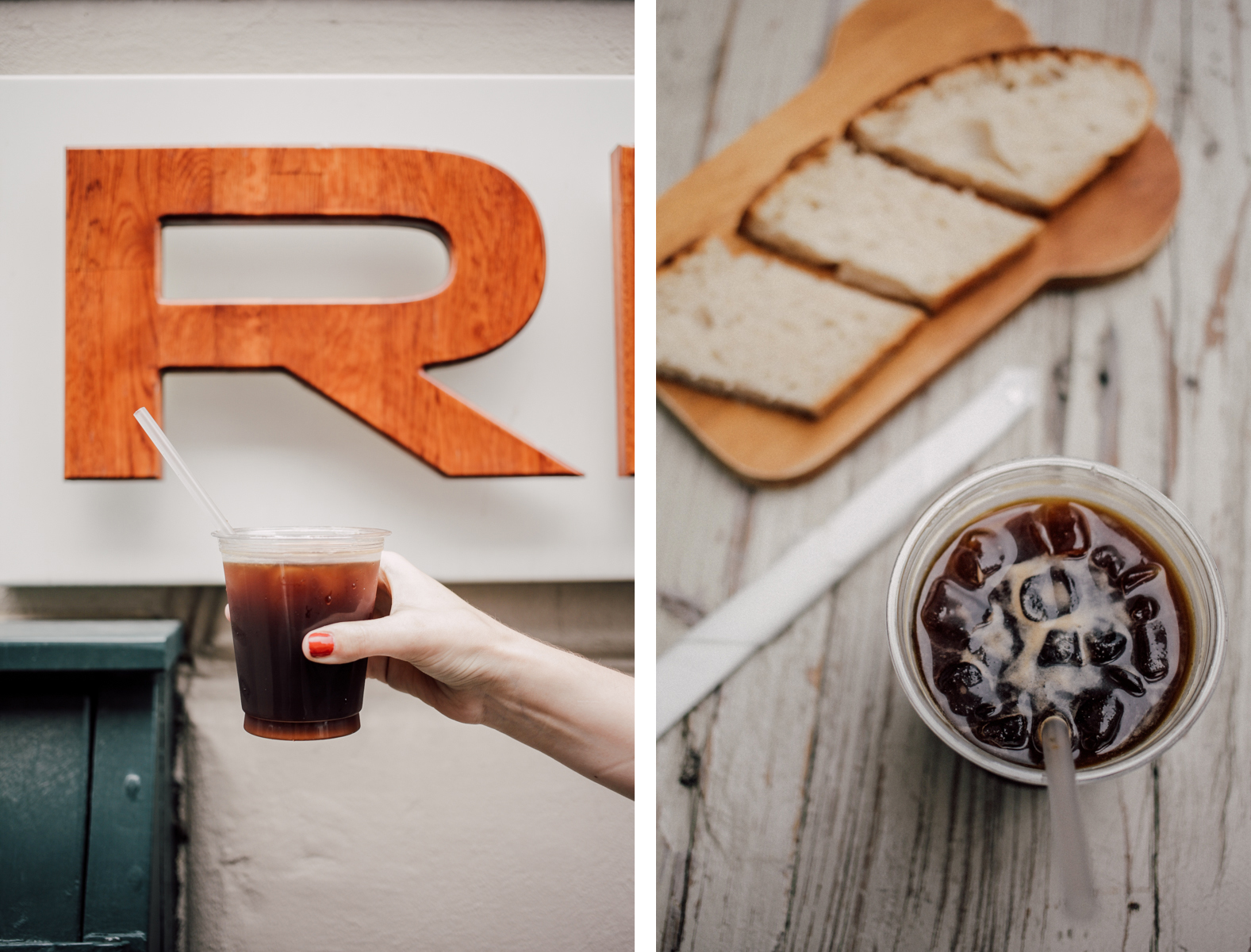 Risteriet Iced Coffee Collage | Scandinavia Standard