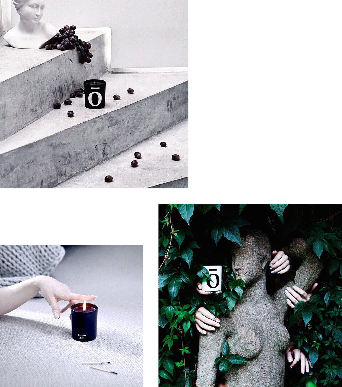 IIUVO Candle Collage | Scandinavia Standard