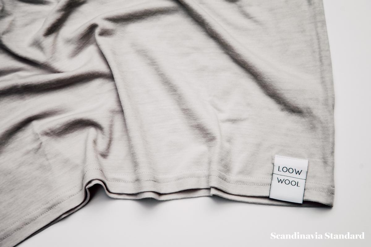 Loow Merano Wool T-shirt Close Up | Scandinavia Standard.jpg