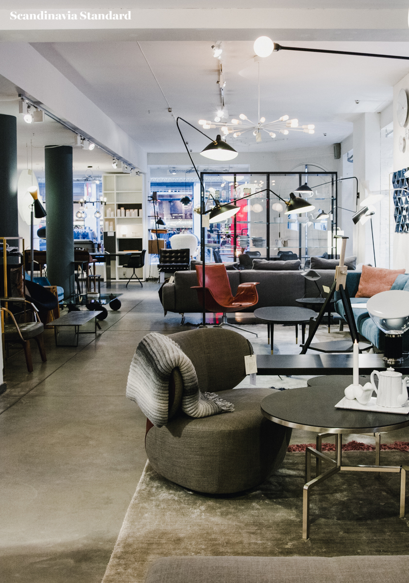 Six interior design shops in copenhagen you need to know for Swedish design shop