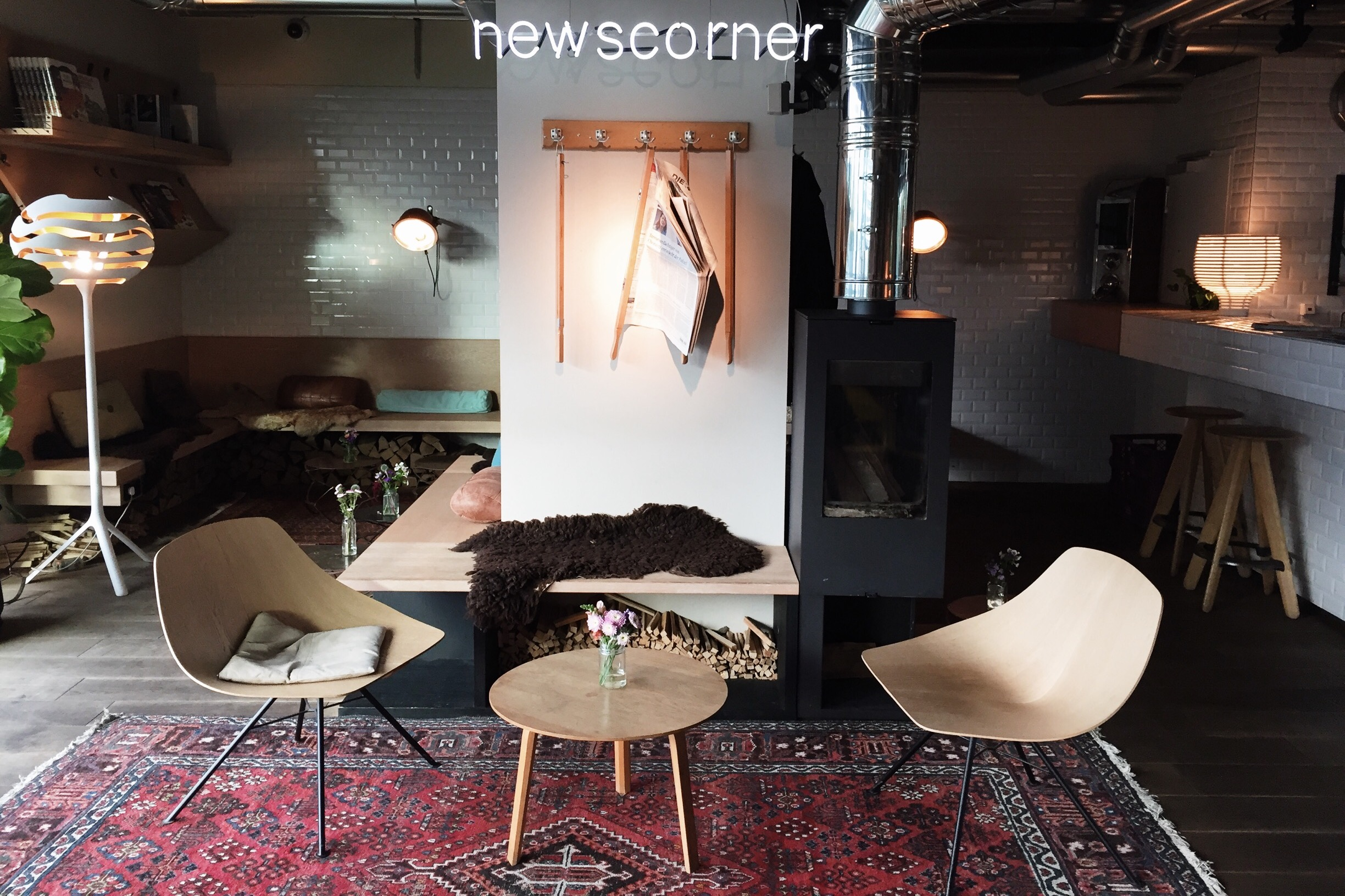25Hours Hotel Berlin Newsroom