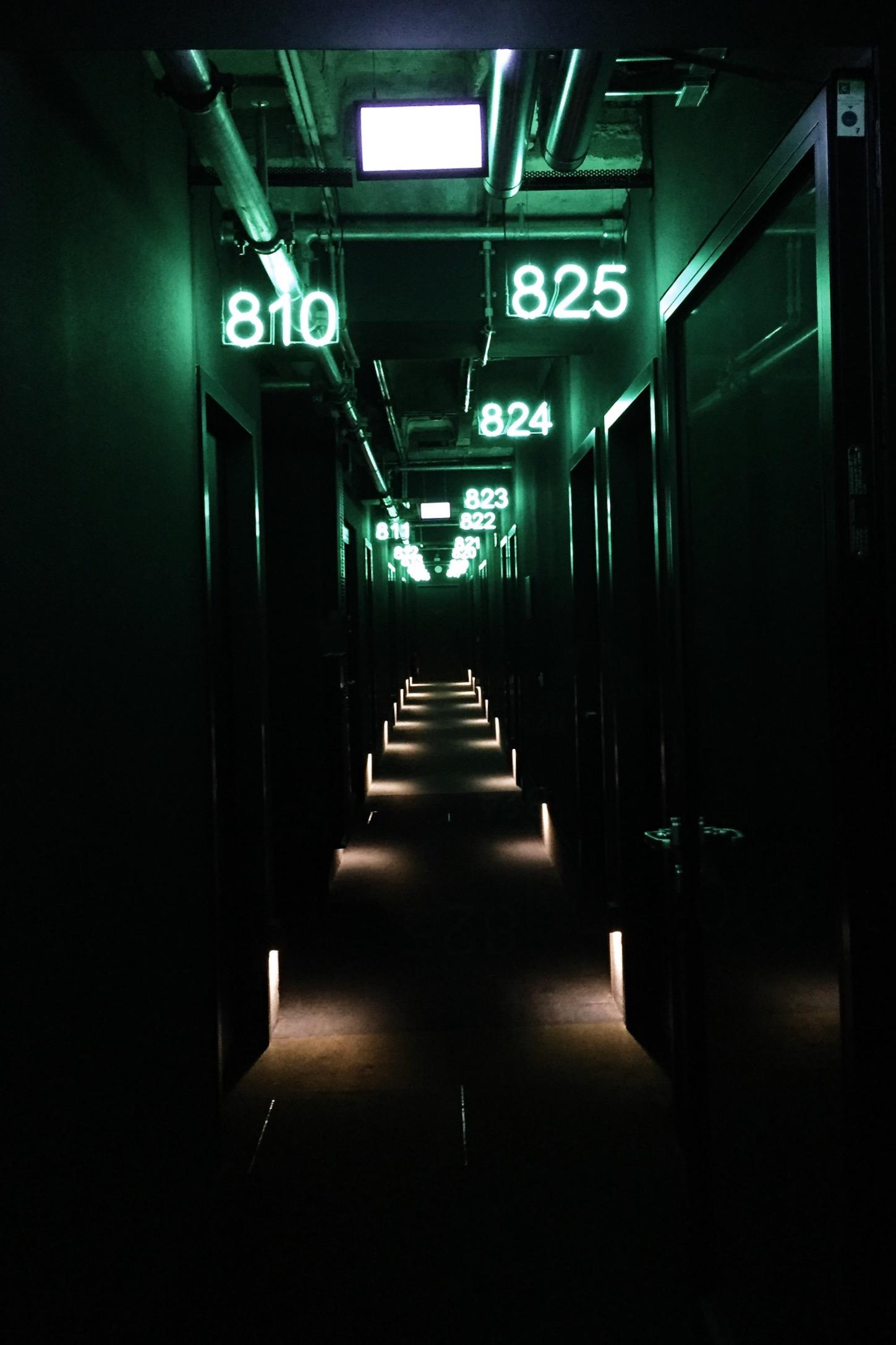 25Hours Hotel Berlin Hallway