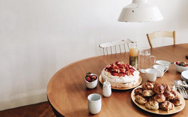 Danish Birthday Table Setting by Miriam Bak McKenna | Scandianvia Standard