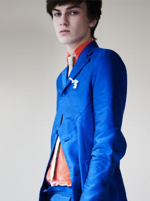 LAZOSCHMIDL blue jacket