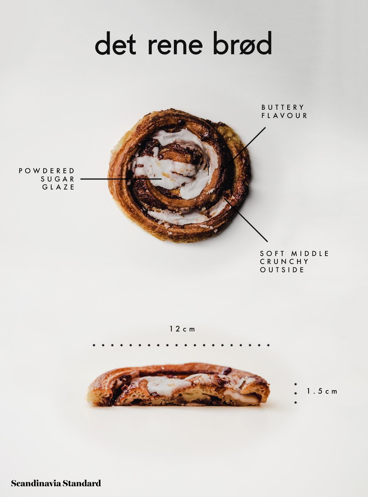 2. Det Rene Brød Cinnamon Bun Kanelsnegle Copenhagen