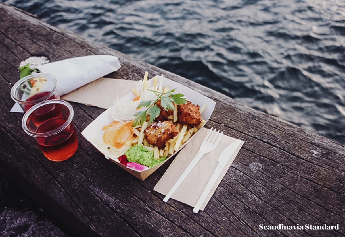 Copenhagen Street Food Fish and Chips On the Water