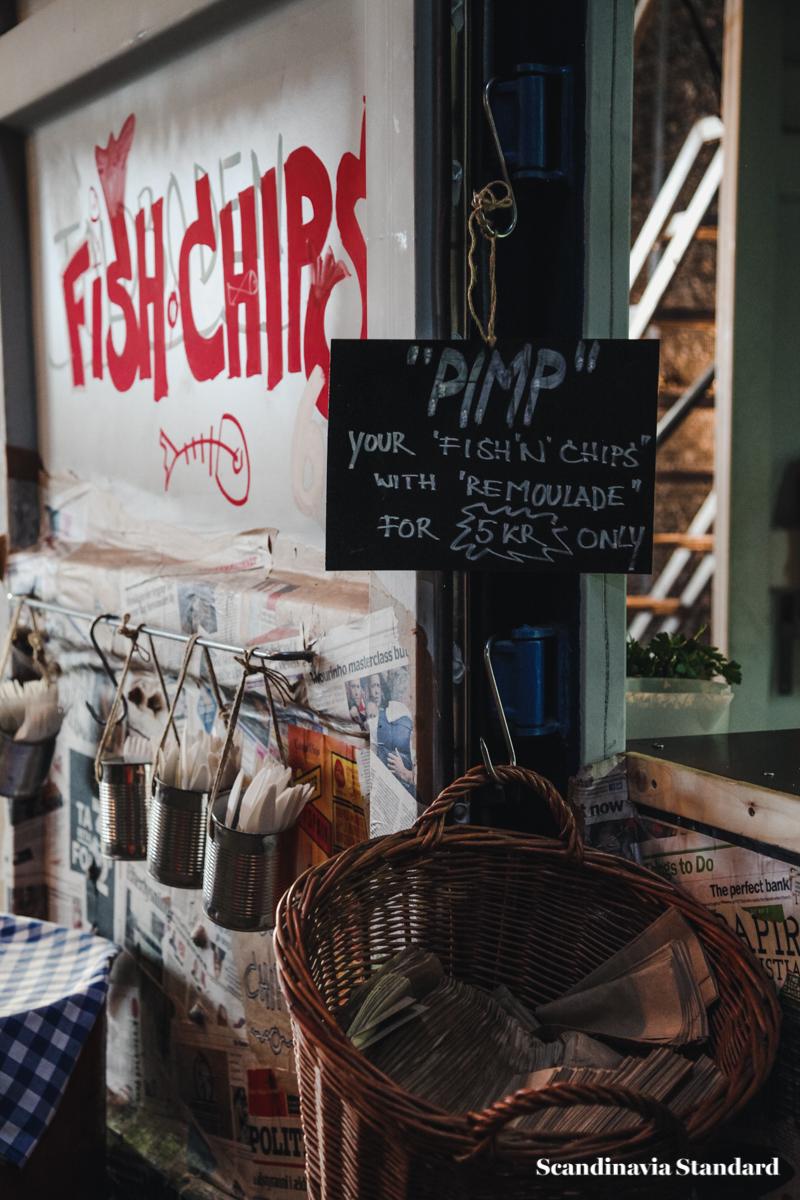 Copenhagen Street Food Fish and Chips