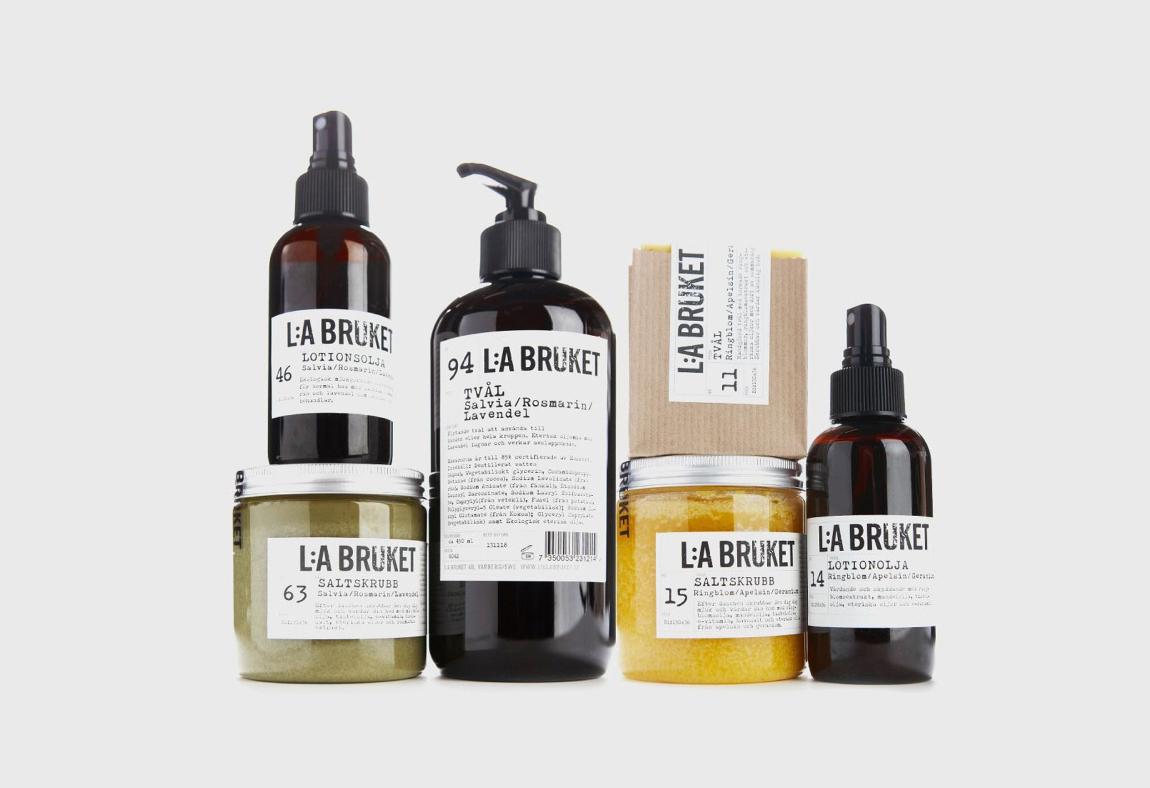 Swedish beauty and skincare brands for La cabine skincare