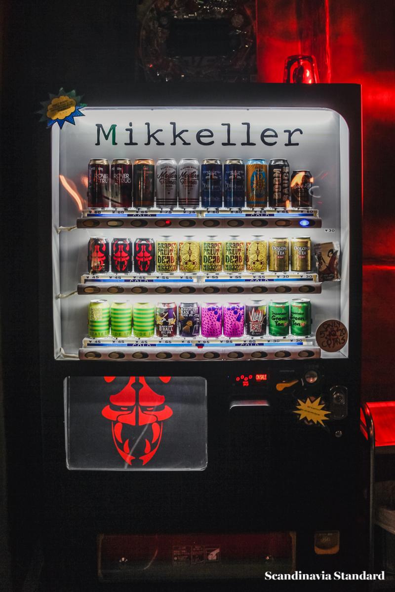 Ramen To Birru Mikkeller Vending Machine