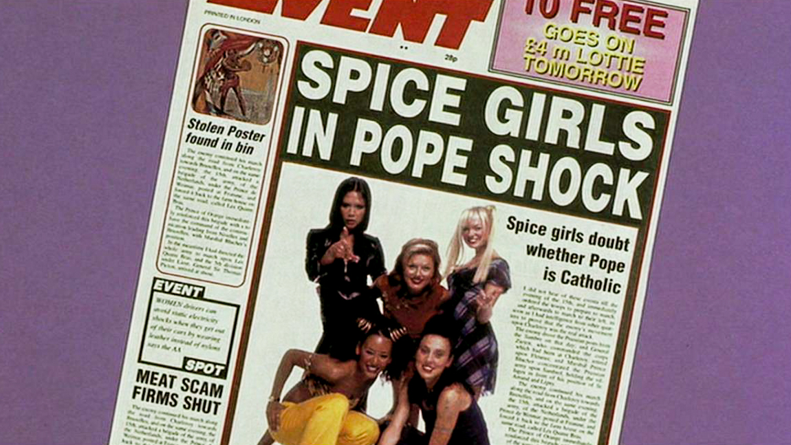 Spice World Is The Pope A Catholic?