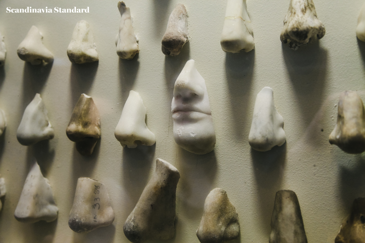 The Gallery of Noses at Glyptotek - Nasothek | Scandinavia Standard