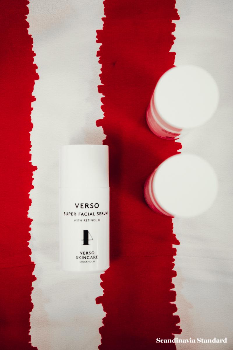 Verso Skincare Minimalist Packaging | Scandinavia Standard
