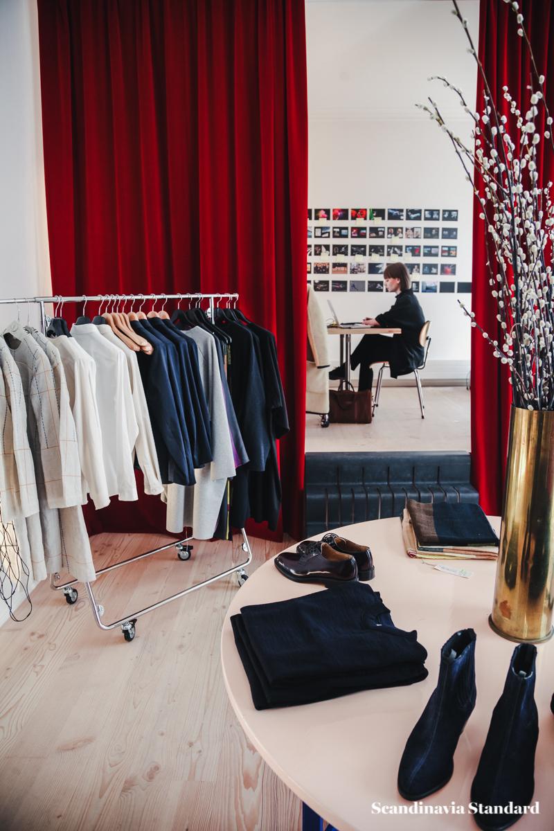 The White Room Maja Brix Laerke Andersen S Studio Store In Copenhagen