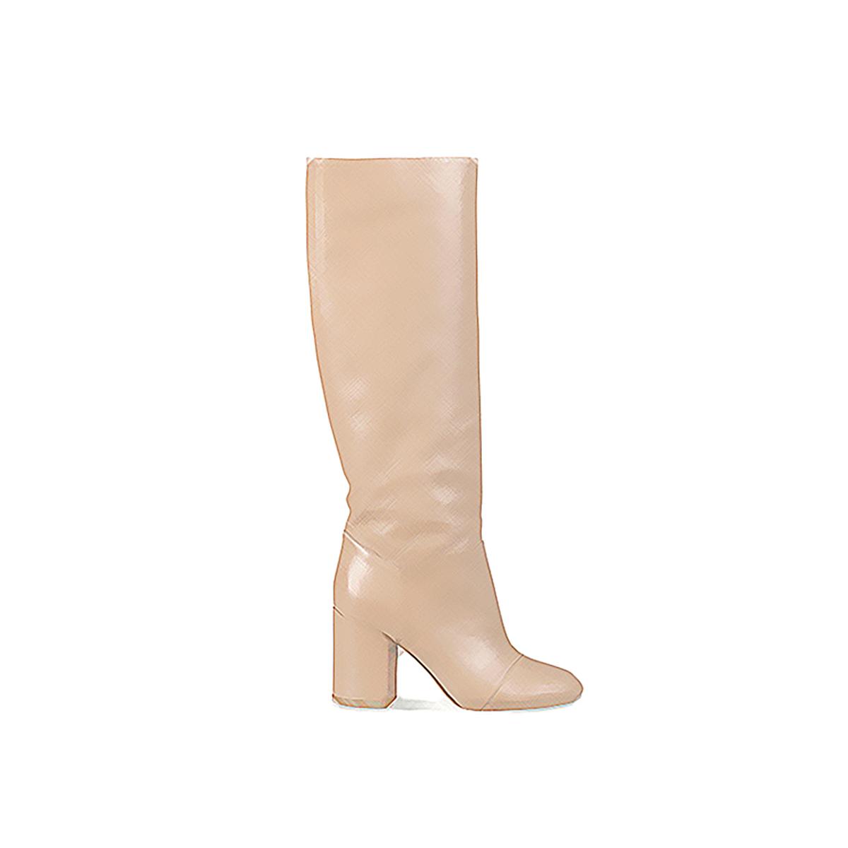 Marimekko Leather Boots 7LyXtovaX