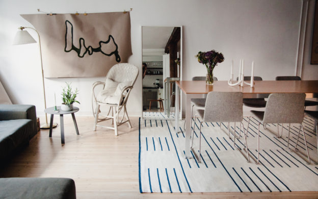 Tie The Room Together Scandinavian Design Rugs From Nordic Knots