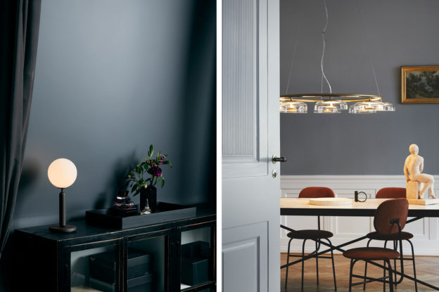 Eetkamer Lamp Design : Lighting up a room with danish design company nuura