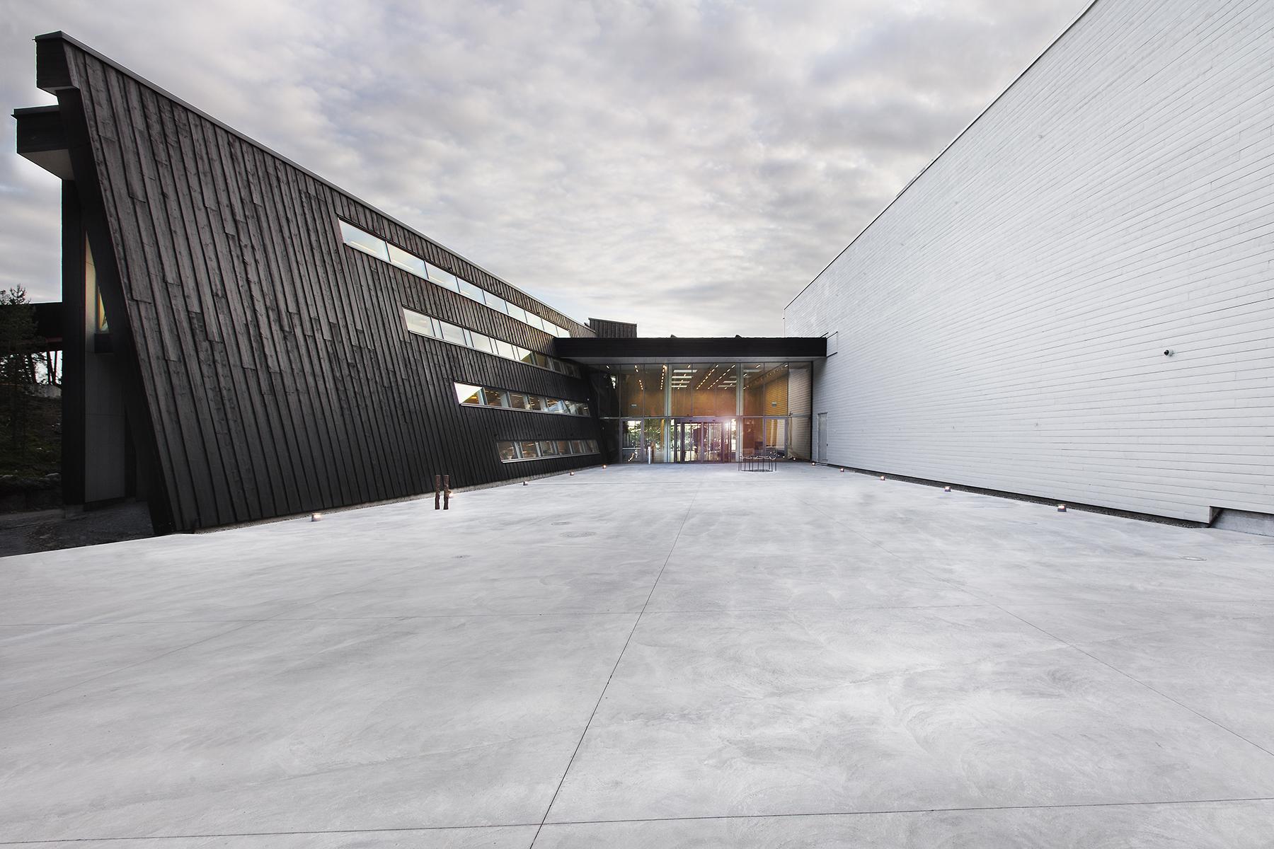 Modern Art Gallery Buildings