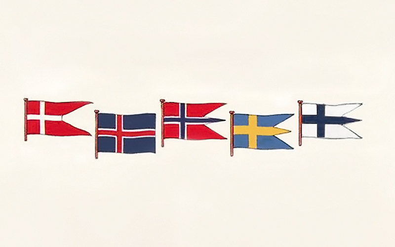 A Brief History of the Scandinavian and Nordic Flags