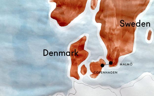 How to Travel Between Copenhagen, Denmark, and Malmö, Sweden