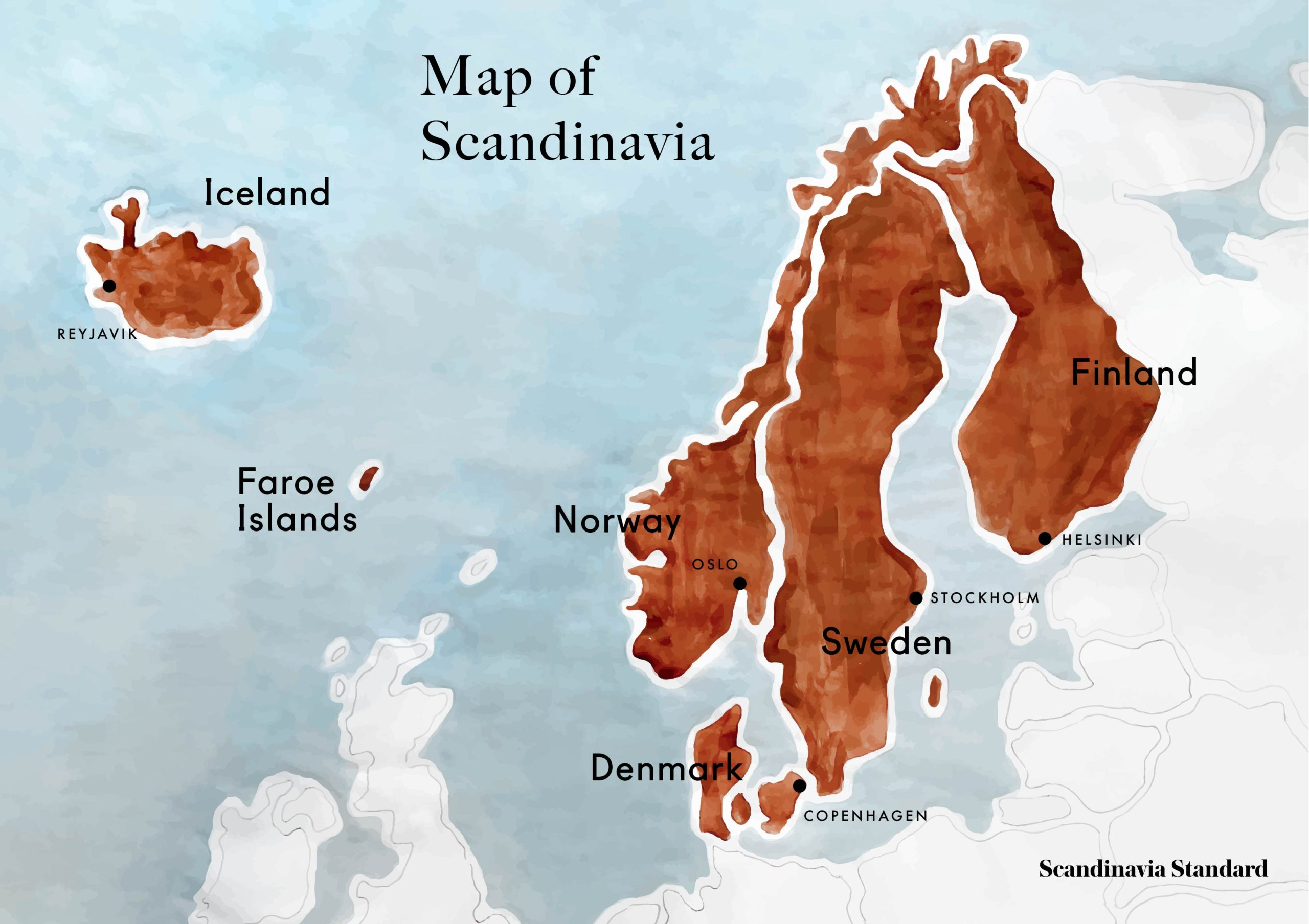 Picture of: Where Is Scandinavia A Guide To The Scandinavian Countries