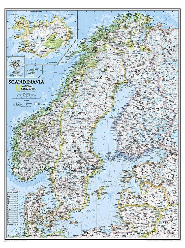 Discover The Best Maps Of Scandinavia