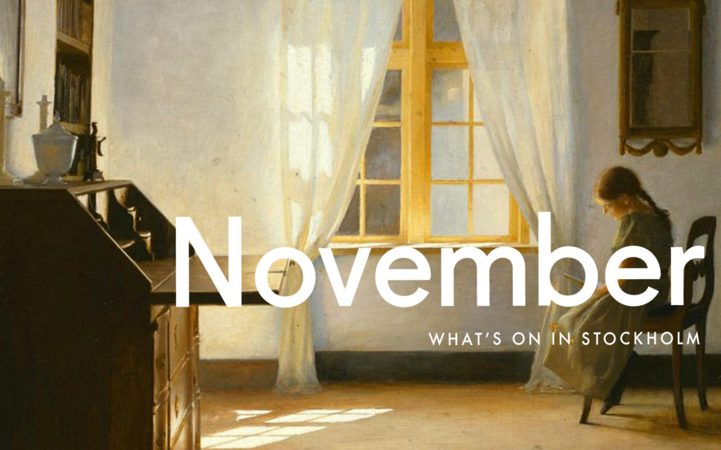 What's On in Stockholm: November 2020