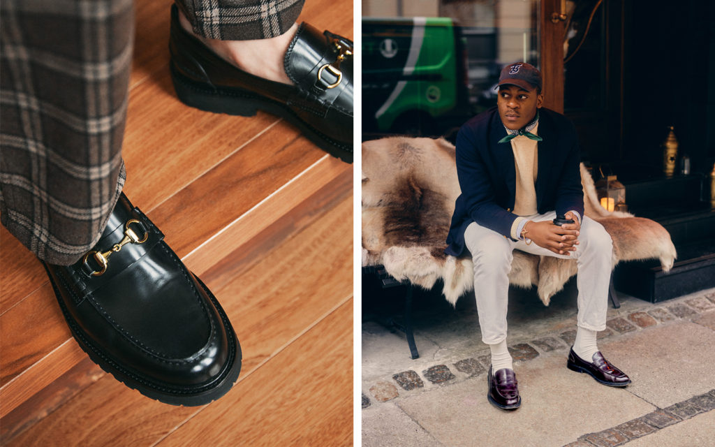 Virgil Nicholas Brings the Vibe with Vinny's Loafers