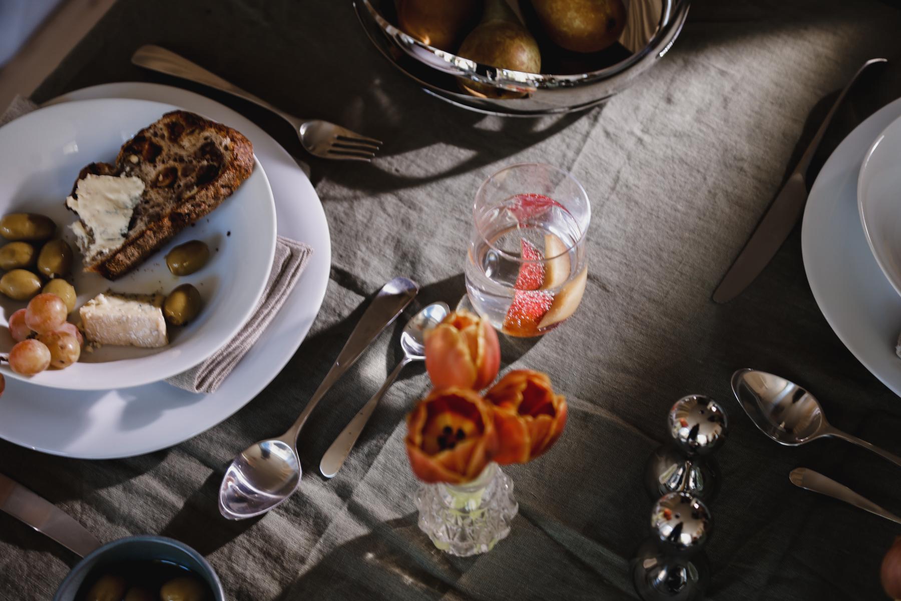 Follow the Organic Curves of Georg Jensen's Cobra Tableware